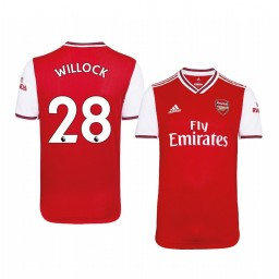 2019/20 Joe Willock Arsenal Home Short Sleeve Authentic Jersey