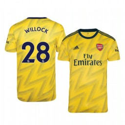 2019/20 Joe Willock Arsenal Away Short Sleeve Authentic Jersey