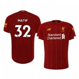 2019/20 Joel Matip Liverpool Home Authentic Jersey
