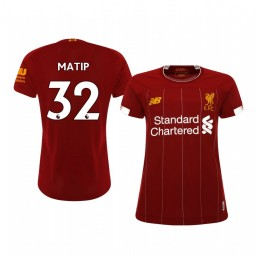 Women's 2019/20 Joel Matip Liverpool Home Authentic Jersey