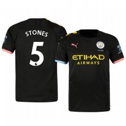 2019/20 John Stones Manchester City Away Short Sleeve Authentic Jersey