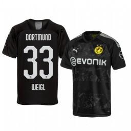 2019/20 Borussia Dortmund Julian Weigl Black Away Authentic Jersey