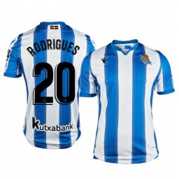 2019/20 Kévin Rodrigues Real Sociedad Home Authentic Jersey