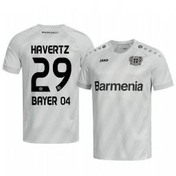 2019/20 Bayer Leverkusen Kai Havertz White Away Authentic Jersey