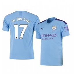 2019/20 Kevin De Bruyne Manchester City Home Authentic Jersey