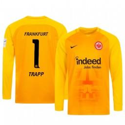 2019/20 Eintracht Frankfurt Kevin Trapp Orange Goalkeeper Long Sleeve Authentic Jersey