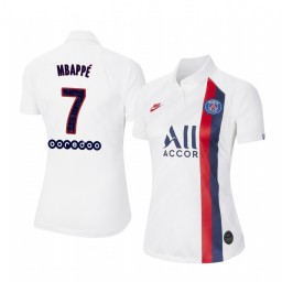 Women's 2019/20 Paris Saint-Germain Kylian Mbappé Authentic Jersey Alternate Third