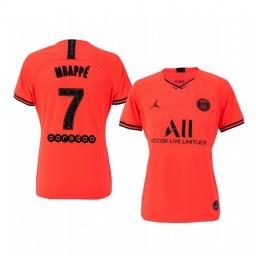 Women's 2019/20 Paris Saint-Germain Kylian Mbappé Away Authentic Jersey