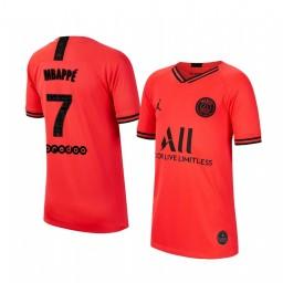 Youth 2019/20 Paris Saint-Germain Kylian Mbappé Away Authentic Jersey