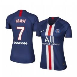 Women's 2019/20 Paris Saint-Germain Kylian Mbappé Home Authentic Jersey