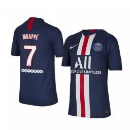 Youth 2019/20 Paris Saint-Germain Kylian Mbappé Home Authentic Jersey