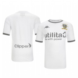 Youth 2019/20 Leeds United White Home Short Sleeve Authentic Jersey