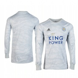 2019/20 Leicester City Grey Goalkeeper Long Sleeve Authentic Jersey