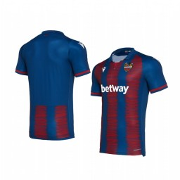 Youth 2019/20 Levante Red Blue Home Authentic Jersey