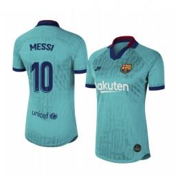 Women's 2019/20 Barcelona Lionel Messi Authentic Jersey Alternate Third