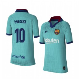 Youth 2019/20 Barcelona Lionel Messi Authentic Jersey Alternate Third
