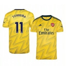 2019/20 Lucas Torreira Arsenal Away Short Sleeve Authentic Jersey
