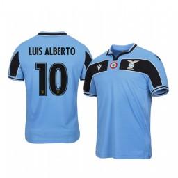 2019/20 Luis Alberto Lazio Light Blue 120th Anniversary Celebration Authentic Jersey