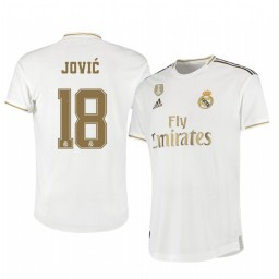 2019/20 Luka Jovic Real Madrid Home Authentic Jersey
