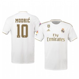 2019/20 Luka Modric Real Madrid Home Authentic Jersey
