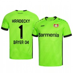 2019/20 Bayer Leverkusen Lukas Hradecky Green Goalkeeper Official Authentic Jersey