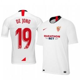 2019/20 Luuk de Jong Sevilla Home Authentic Jersey