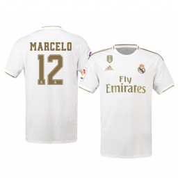 2019/20 Marcelo Real Madrid Home Authentic Jersey