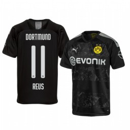 2019/20 Borussia Dortmund Marco Reus Black Away Authentic Jersey