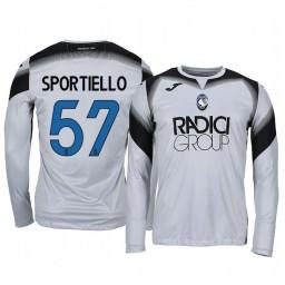 2019/20 Atalanta Marco Sportiello Gray Goalkeeper Long Sleeve Authentic Jersey