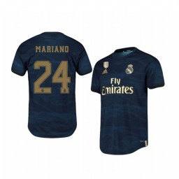 2019/20 Mariano Real Madrid Away Navy Official Short Sleeve Authentic Jersey
