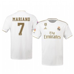 2019/20 Mariano Real Madrid Home Authentic Jersey