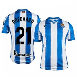 2019/20 Martin Ødegaard Real Sociedad Home Authentic Jersey