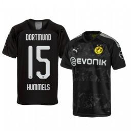 2019/20 Borussia Dortmund Mats Hummels Black Away Authentic Jersey