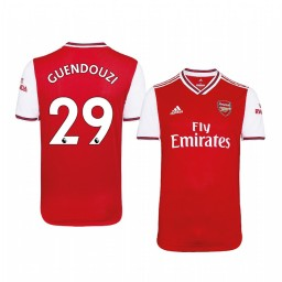 2019/20 Mattéo Guendouzi Arsenal Home Short Sleeve Authentic Jersey