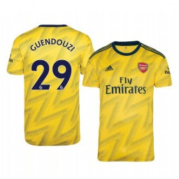 2019/20 Mattéo Guendouzi Arsenal Away Short Sleeve Authentic Jersey