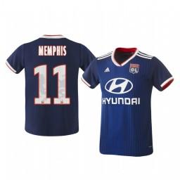 2019/20 Olympique Lyonnais Memphis Depay Away Authentic Jersey