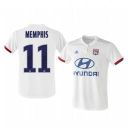 2019/20 Olympique Lyonnais Memphis Depay Home Authentic Jersey