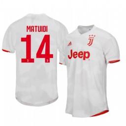 2019/20 Blaise Matuidi Juventus Away Short Sleeve Authentic Jersey
