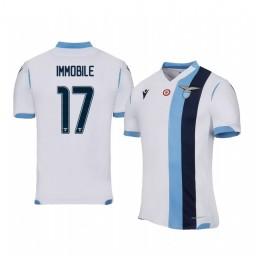 2019/20 Ciro Immobile Lazio Away Short Sleeve Authentic Jersey
