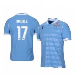 2019/20 Lazio Ciro Immobile Home Short Sleeve Authentic Jersey