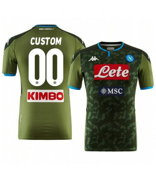 2019/20 Custom Internazionale Milano Away Short Sleeve Replica Jersey