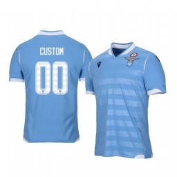 2019/20 Lazio Custom Home Short Sleeve Authentic Jersey