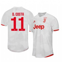 2019/20 Douglas Costa Juventus Away Short Sleeve Authentic Jersey