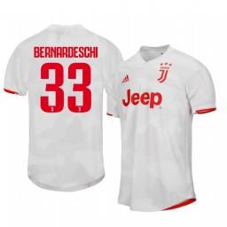 2019/20 Federico Bernardeschi Juventus Away Short Sleeve Authentic Jersey
