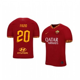 2019/20 AS Roma Federico Fazio Home Short Sleeve Authentic Jersey