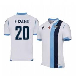 2019/20 Felipe Caicedo Lazio Away Short Sleeve Authentic Jersey