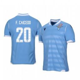 2019/20 Lazio Felipe Caicedo Home Short Sleeve Authentic Jersey