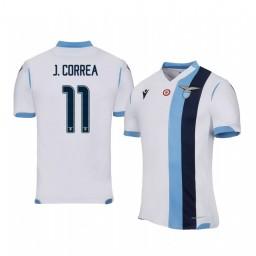 2019/20 Joaquín Correa Lazio Away Short Sleeve Authentic Jersey