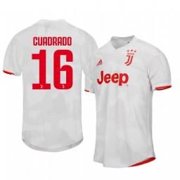 2019/20 Juan Cuadrado Juventus Away Short Sleeve Authentic Jersey