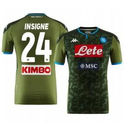 2019/20 Lorenzo Insigne SSC Napoli Away Short Sleeve Authentic Jersey